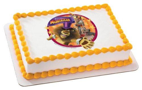 MADAGASCAR 3 ALEX & FRIENDS Edible Image FROSTING SHEET Cake Topper
