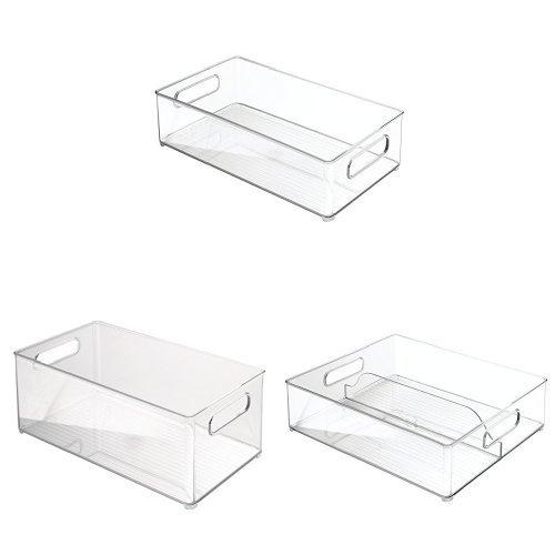InterDesign 3-Piece Fridge + Freeze Binz Kitchen Storage Organizer Set– ()