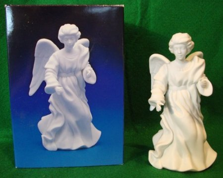 (Avon Nativity Collectibles - The Standing Angel Porcelain Figurine)