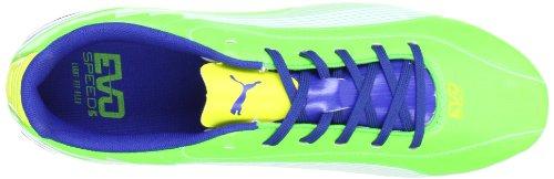 Puma - Botas de fútbol para hombre Verde Blue
