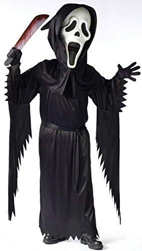 Child Bobble Head Ghost Face Child Costume - -