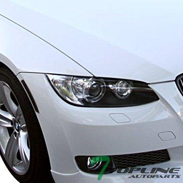 Topline Autopart Euro Smoke Bumper Side Marker Reflector Lights For 07-12 Bmw E92 E93 3-Series 2D 2Dr (2008 Bmw 3 Series 335i 2dr Coupe)