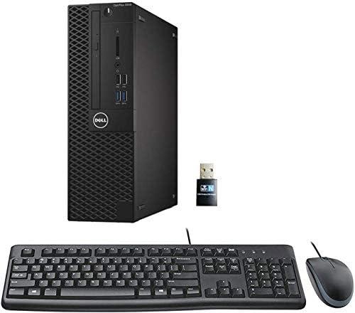 Dell Optiplex 3050 SFF Desktop PC, Intel i5-6500 3.2GHz 4 Core, 16GB DDR4, 512GB SSD, WiFi, Win 10 Pro, Keyboard, Mouse (Renewed)