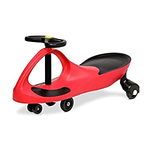 RIGO Ride On Swing Car Toy Wiggle Scooter Car-Red