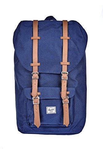 Herschel Lil Amer 600D Poly Bag Backpack Navy