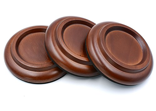 Piano Caster Cups Grand Piano Caster Cups Wood coasters Cups Piano Caster Pads for Grand Piano by Sound harbor