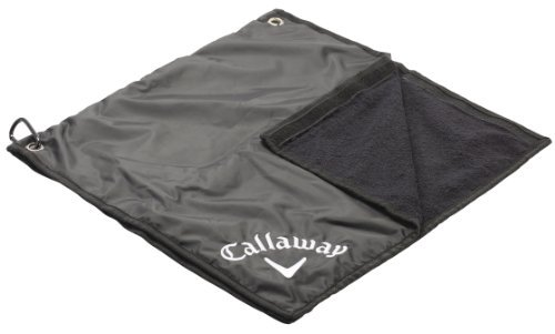 Callaway Rain Combination Bag Hood and Towel - Black by Callaway