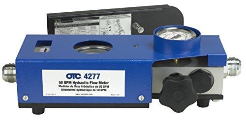 OTC Tools 4277 50 GPM Hydraulic Flow Meter - Hydraulic Flow Tester