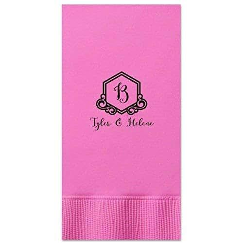Amazon.com: Monogram Guest Towels Rustic Wedding Decor