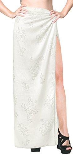 (Rayon Bathing Towel Beach Womens Wrap Sarong Burnout Fabric 78