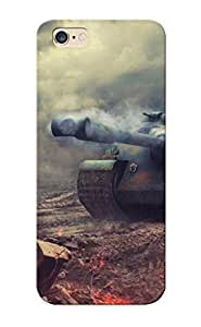 High-quality Durable Protection Case For Iphone 6 Plus(world Of Tanks Tanks Amx50 Foch ) For New Year's Day's Gift