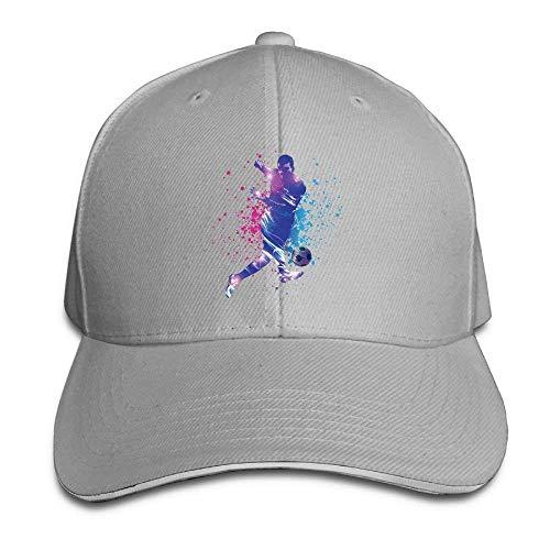 JHDHVRFRr Hat Football Player Denim Skull Cap Cowboy Cowgirl Sport Hats for Men Women