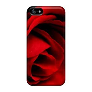 High-end Protector Case For Iphone 6 4.7Inch Cover(rose So Red)