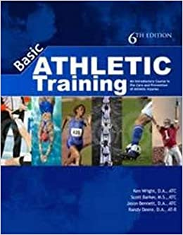 Basic Athletic Training An Introductory Course In The Care And