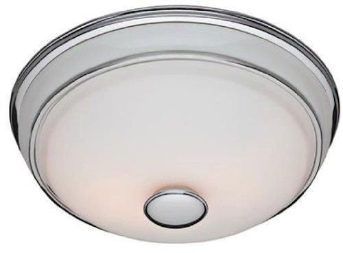 Hunter 81021 Ventilation Victorian Bathroom Exhaust Fan And Light Combination Silver Bathroom