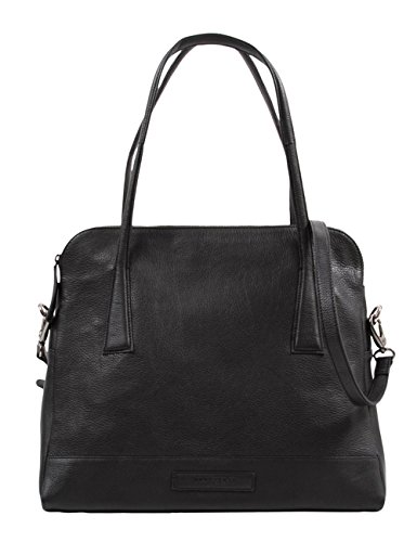 Hüftgold black Schwarz A Hombro Bag De Tracolla Negro Nera In 2 No Bolso nera Borsa Pelle Unisex 98 B Cuero AAr7qx