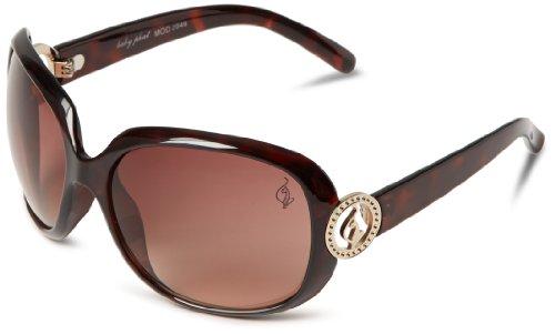 Baby Phat Frames (baby phat Women's 2049 Round Sunglasses,Tortoise Frame/Brown Lens,one size)