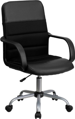 mid-back-black-leather-and-mesh-swivel-task-chair