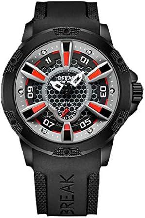 GUO XINFEN 腕時計 ボーイズ 3Dスケール コントラストカラー カジュアル ファッショントレンド 防水 クォーツウォッチ