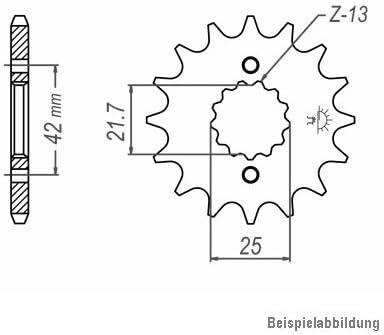 Typ GV73C ZVM-X chrom super verst/ärkt DID X-Ring Kettensatz f/ür Suzuki GSX-R 1100 1990-1992