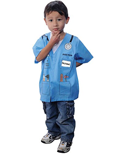My First Career Gear - Doctor (blue) Toddler (The First Doctor Costume)