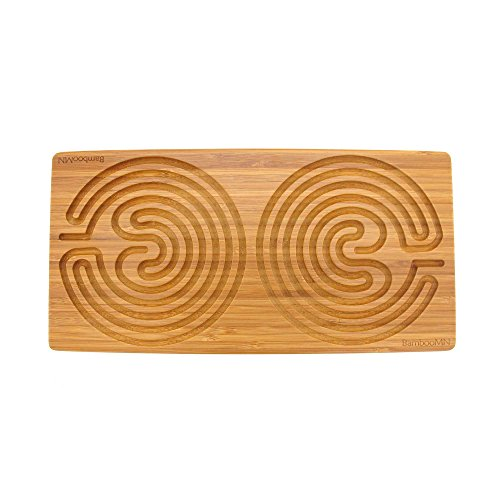 """Double Finger Labyrinth for Meditation and Prayer - 12"""" x..."""
