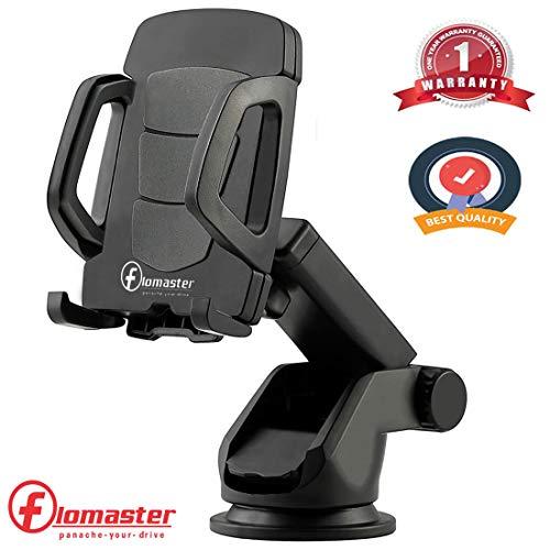 Flomaster   Car Mobile Holder for Dashboard, Windshield  Black