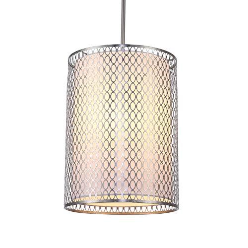 Woodbridge Lighting 16626STN Transitional Spencer 3-Light Mid-Pendant ()