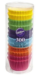 Wilton 300 Caissettes Cupcake Arc en Ciel