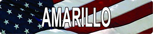 Any and All Graphics AMARILLO American Flag design patriotic 8