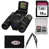 Vivitar 12x25 Binoculars with Built-in Digital Camera with 16GB Card + Harness + Accessory Kit