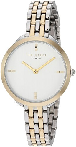 Ted Baker Women's 'ELANA' Quartz Stainless Steel Casual Watch, Color Two Tone (Model: TE15198007)