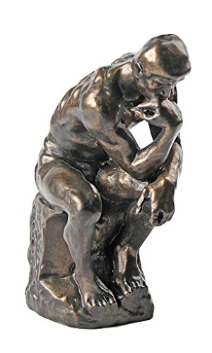 (Parastone The Thinker Statue of Deep Contemplation by Rodin)