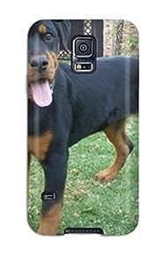Valerie Lyn Miller Premium Protective Hard Case For Galaxy S5- Nice Design - Rottweiler Dog