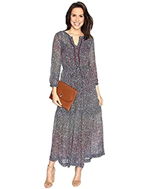 Womens Ditsy Maxi Dress