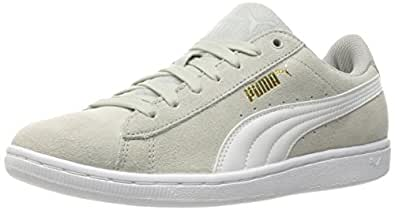 PUMA Women's Vikky Sfoam Fashion Sneaker, Gray Violet/Puma White, 10.5 M US
