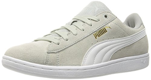Fashion PUMA Sneaker Vikky Violet White Women's Gray Sfoam Puma qwAOvUCwn
