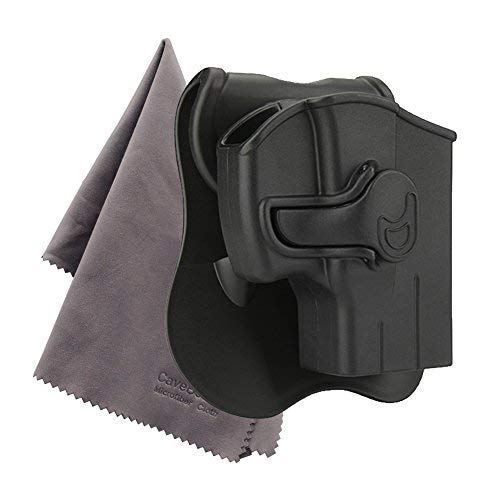 Taurus PT111 G2 Holster Taurus G2C Holsters, Also Fit Taurus Millennium PT132 PT138 PT145 PT745, 360 Degree Adjustable Paddle Tactical Pistol Holsters,- Include Microfiber Cloth - RightHand