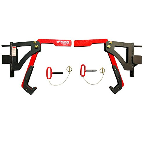 Titan Adjustable Monolift Rack Mounted Attachment for X-2 Power Rack by Titan Fitness