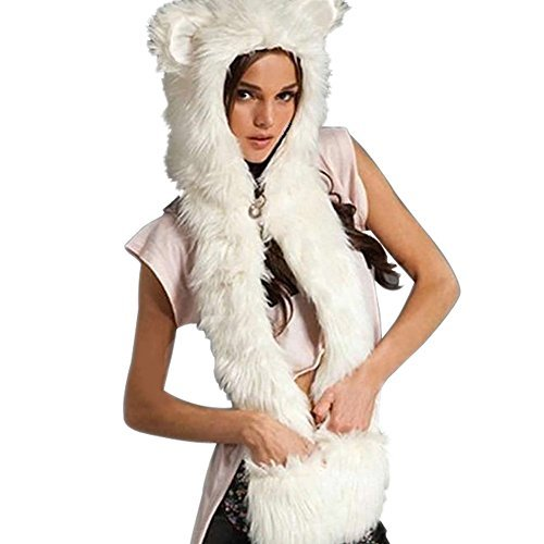 polar bear fur coat - 2