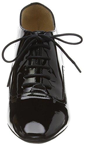 Unisa Maison_Pa - punta cerrada de cuero mujer negro - negro