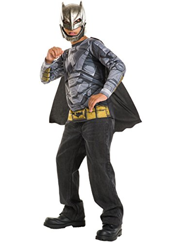 Rubie's Costume Batman v Superman: Dawn Of Justice Armored Batman Child Top, Medium
