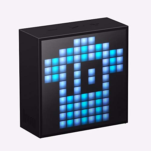 Divoom Timebox Smart Portable Bluetooth LED App-Controlled Pixel Art Speaker