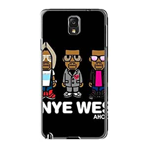 SherriFakhry Samsung Galaxy Note3 Shock Absorbent Hard Phone Cover Unique Design Stylish Muse Series [NLv9829PzTo]