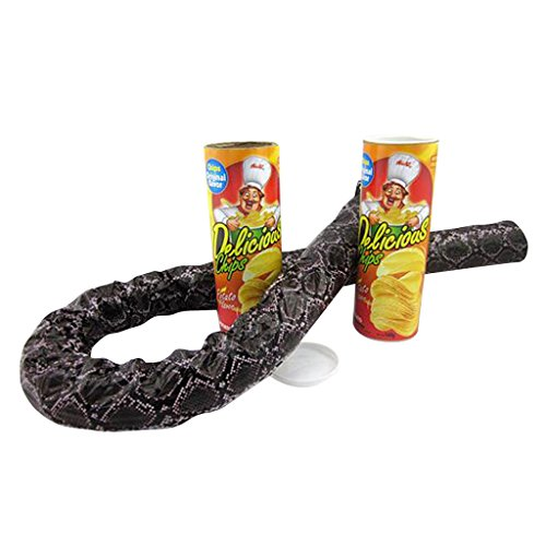 Jili Online Potato Chip Snake Can Spring Loaded Trick Gag Classic Prank Laughter (Loaded Snakes)