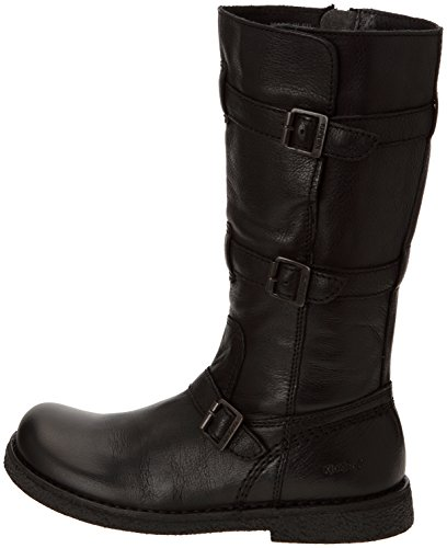 57c1de64230eb5 bottes kickers lockness,kickers lockness femme noir automne hiver ...