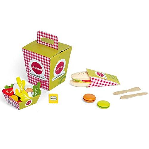 Janod - 06532 - Jeu D'imitation - Sandwich Box Juratoys JAN06532 jb-3995