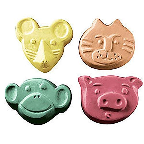 Animal Critters Milky Way Soap Mold - Melt and Pour - Cold Process - Clear PVC - Not Silicone - MW 110