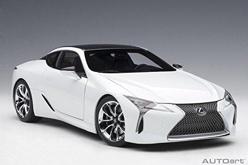 Price comparison product image AUTOart Lexus LC500 Metallic White 1 / 18 Model Car 78846