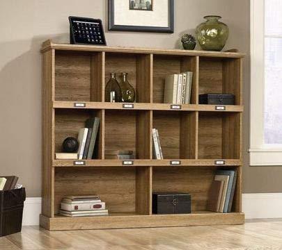 Cube Storage, Bookcase   10 Shelves, Wood, Scribed Oak